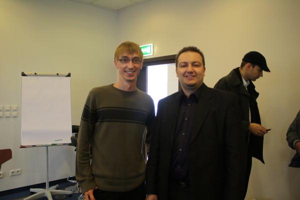 Waldek Łoszek i Marcin Godlewski