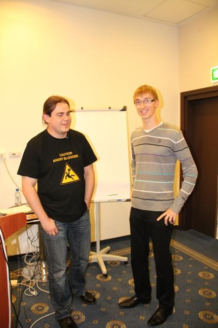 Maciej Budzich i Waldek Łoszek