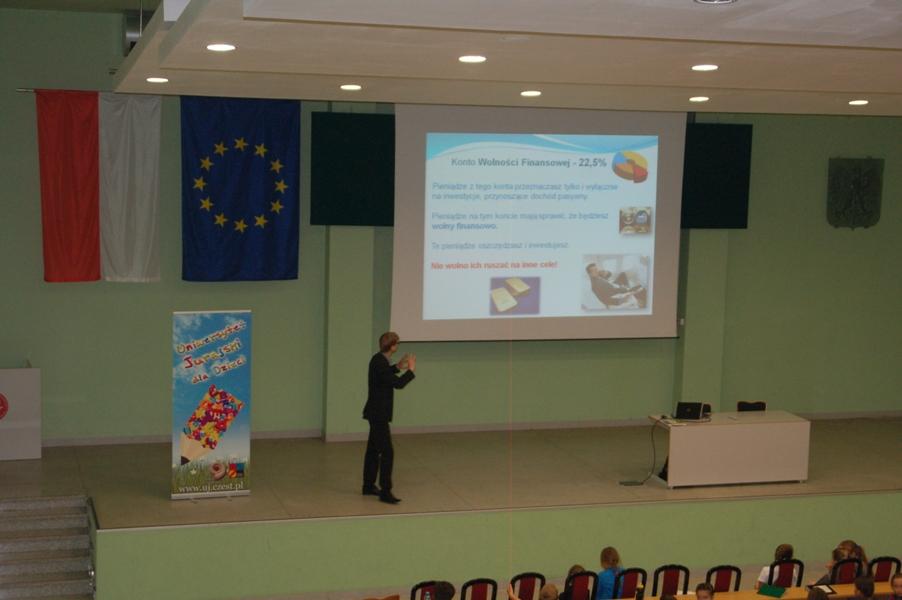 Wykład na UJ - Waldek Łoszek